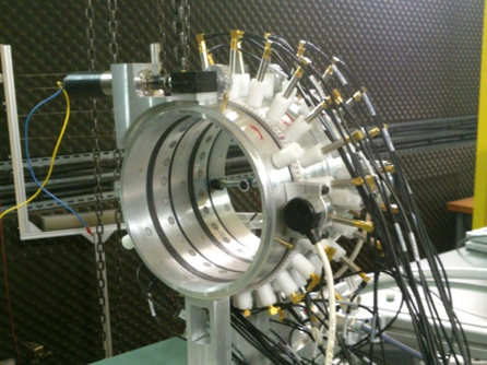 noise turbomachine stator