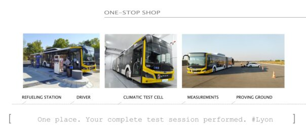 3 Expert structures for a 1-stop vehicle test center